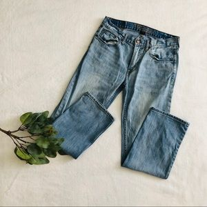 American Eagle Men's Lightwash Straight Leg Jeans